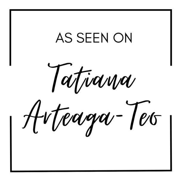 As Seen On Tatiana Arteaga-Teo